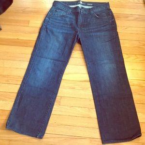 Men's 7 for all mankind austyn jean size 33x29